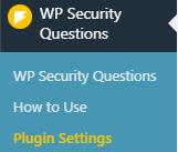 Add Security Questions to WordPress Login Screen