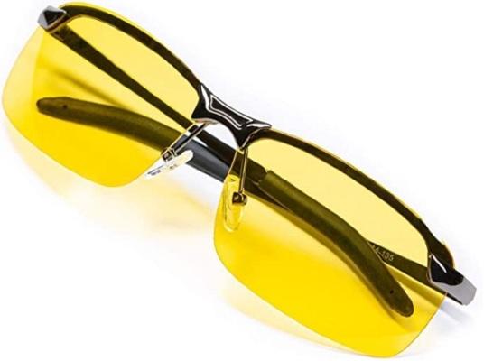 Anti-Glare Polarized Night Driving Glasses