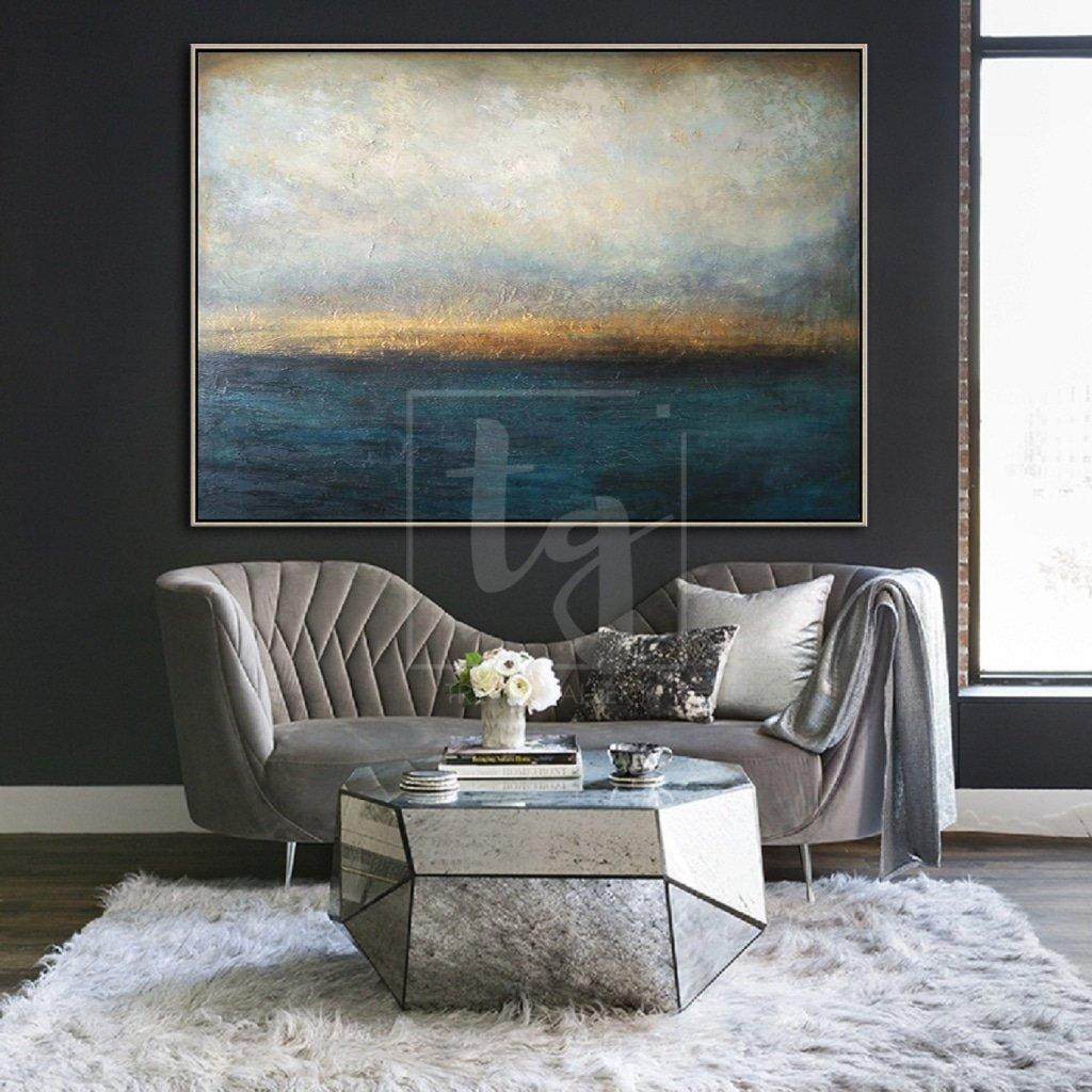 living room paintings