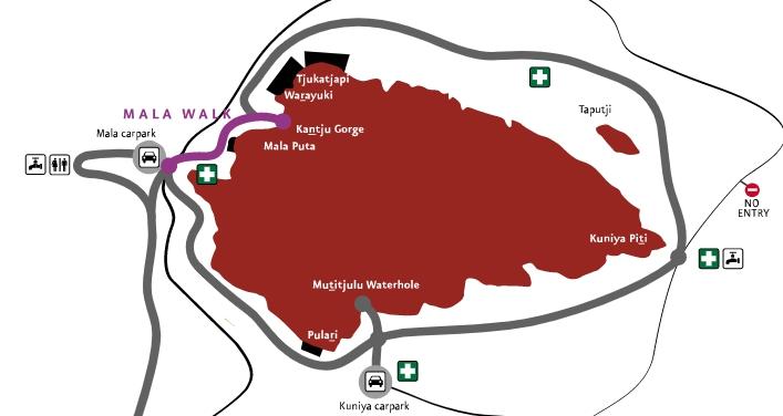 Mala地圖