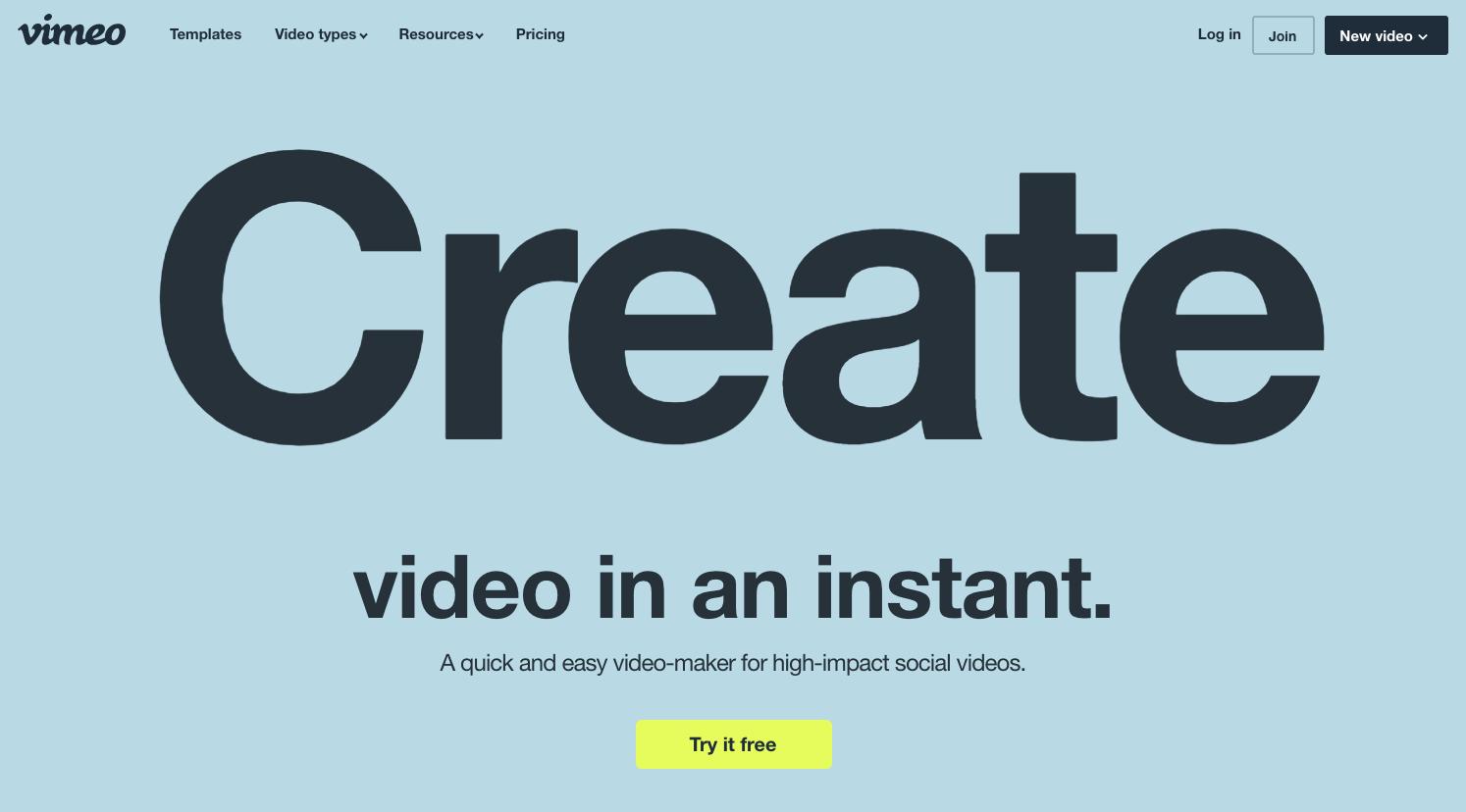 Vidnami fifth alternative - Vimeo Create