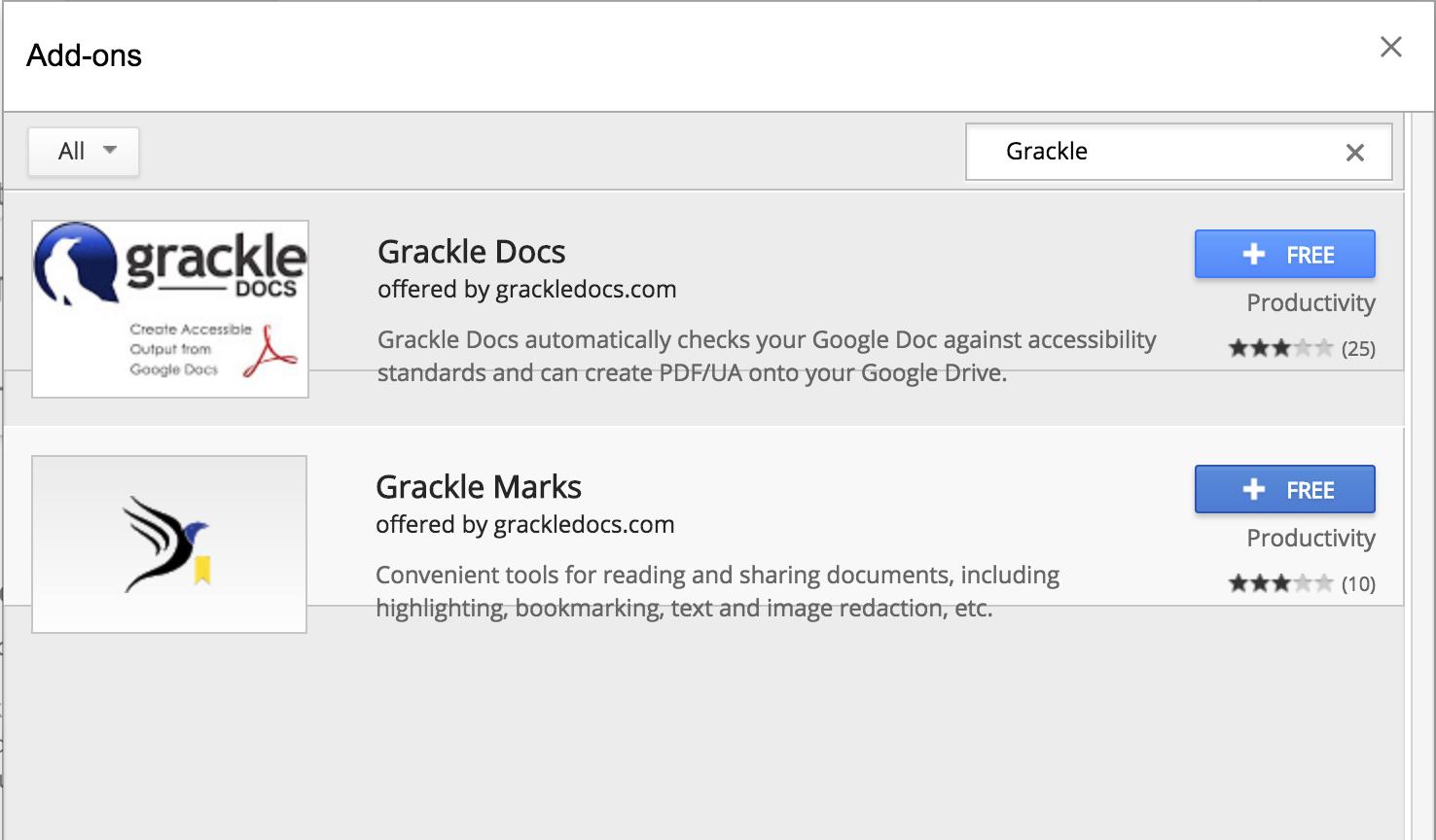 Google Docs | Accessibility