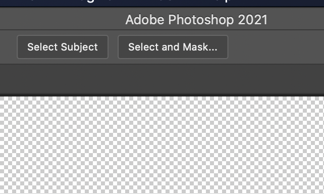 Remove background in Photoshop - 'Select and Mask...'