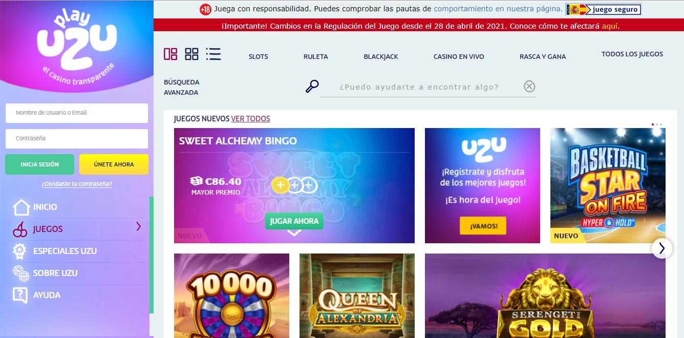 Betting on PlayUZU Casino