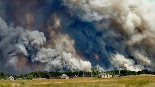 Пожежа на Донбасі