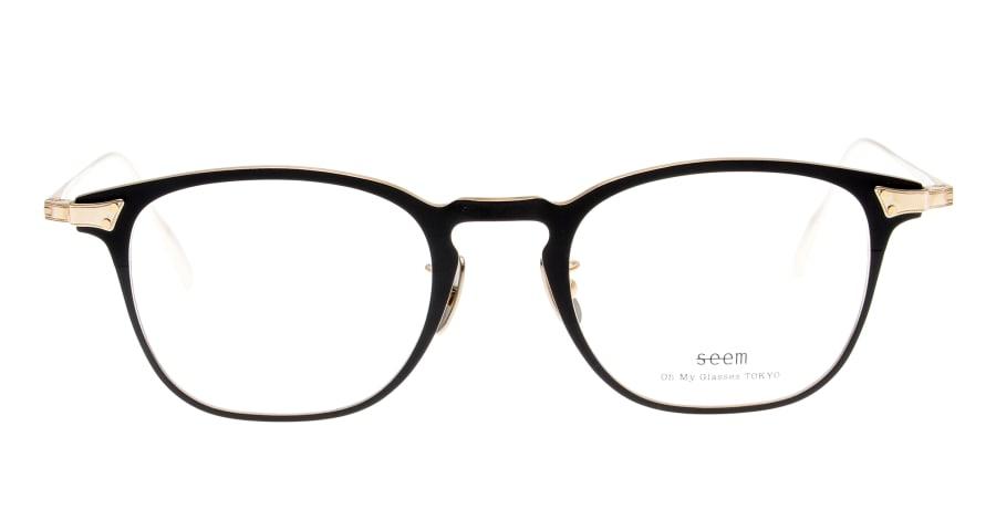 ウェリントンタイプのメガネ