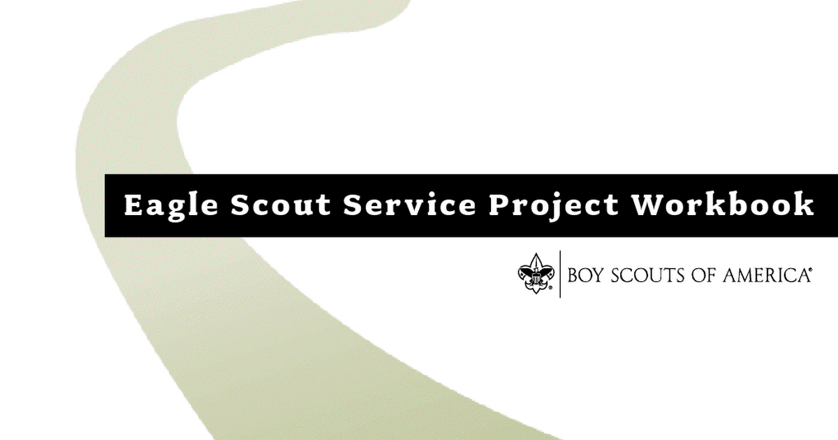 Eagle Scout Service Project Workbook 512927pdf Google Drive – Eagle Scout Worksheet