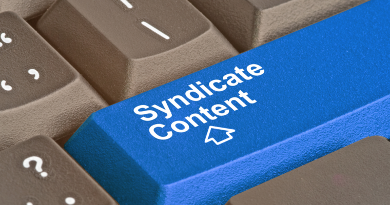 What is syndicated content?