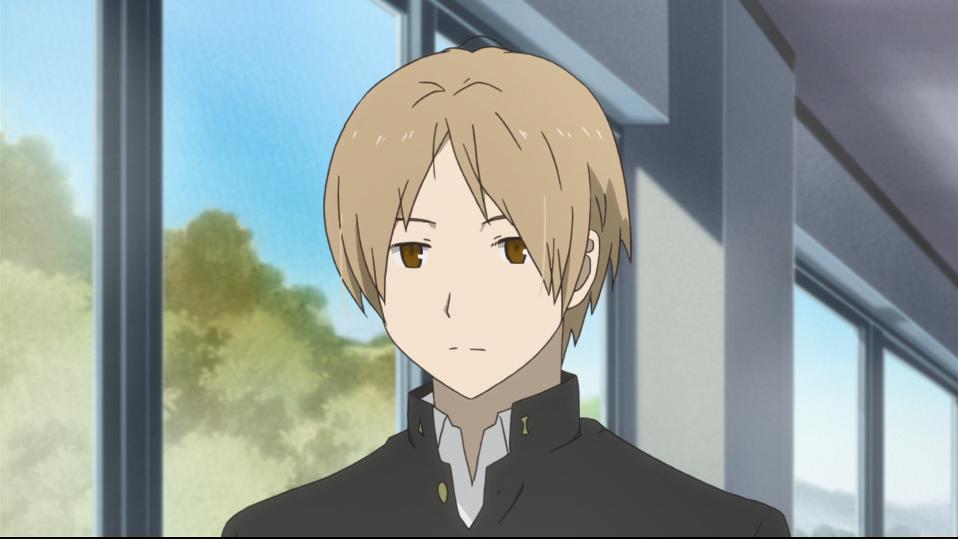Natsume looking morose