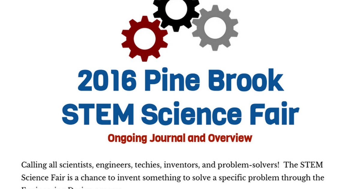 stem science fair projects