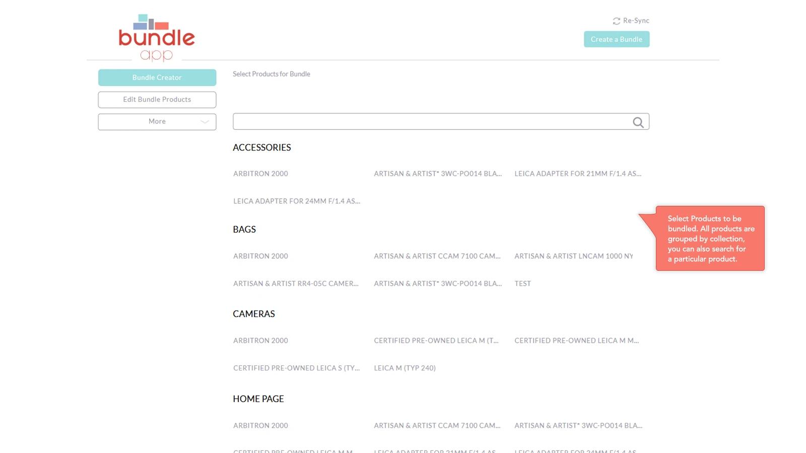 flawless Shopify bundle app
