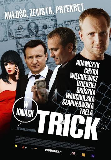Polski plakat filmu 'Trick'