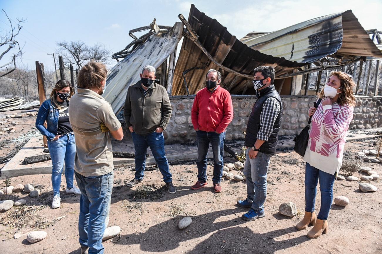 Ministerio de Desarrollo Social asiste a las familias evacuadas del Valle de Punilla 1