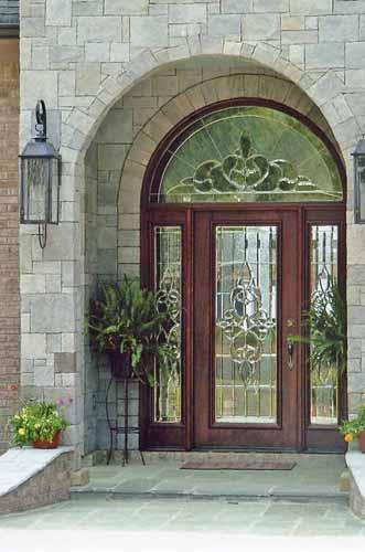 Doors By Design Wood Custom Leaded Glass