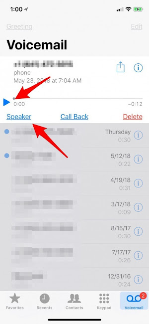iphone voicemail