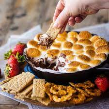 S'mores Dip Recipe: No campfire required! -Baking a Moment