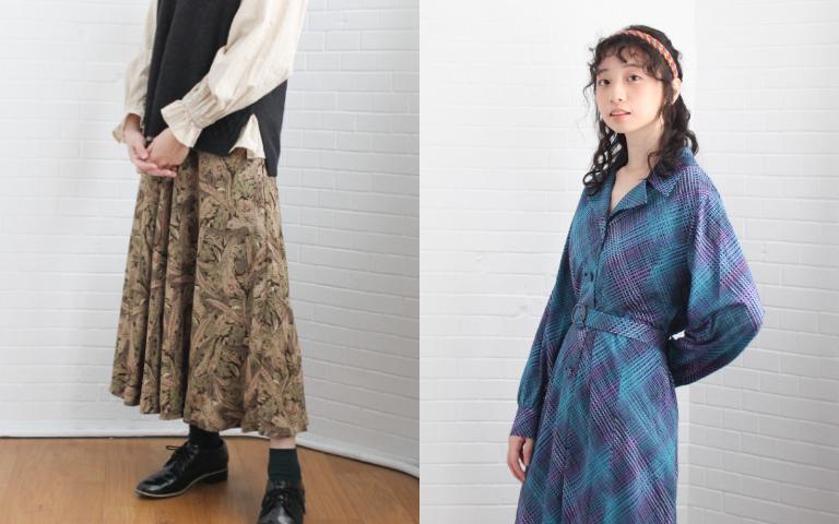 復古穿搭 復古風 復古洋裝 古著