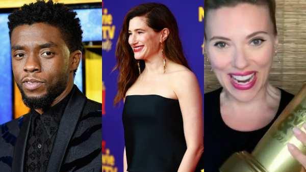 Chadwick Boseman, Kathryn Hahn, Scarlett Johansson,