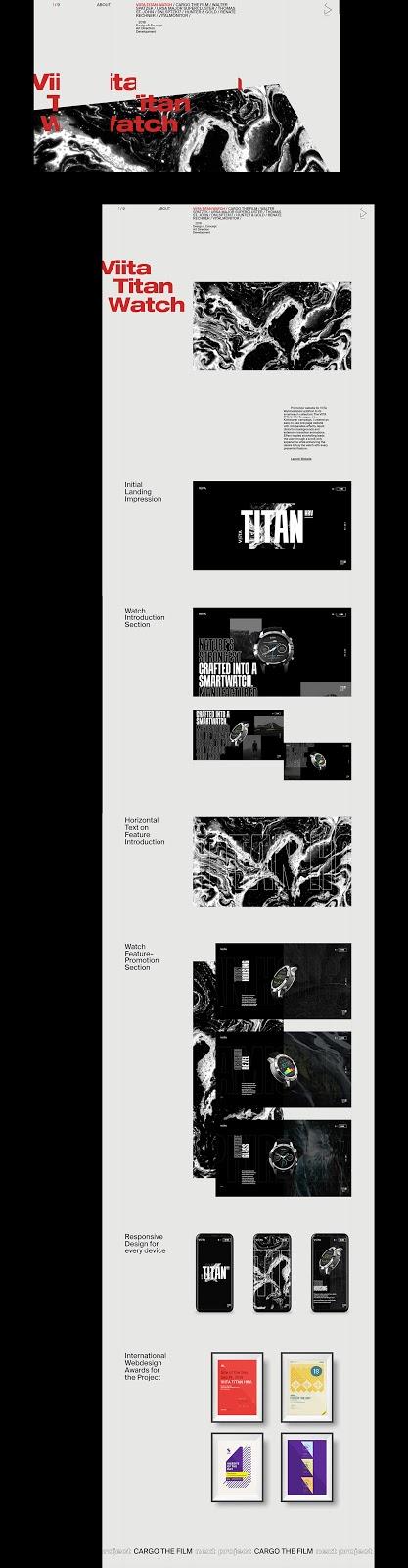 90 s look in web design