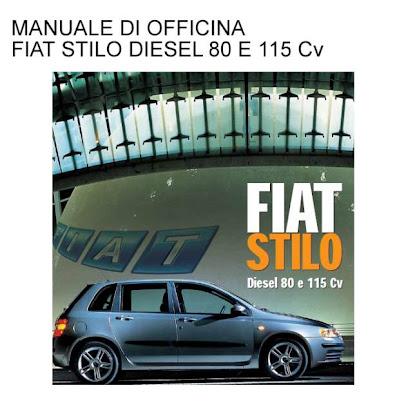 Manuale Officina x Fiat Idea Panda; Manutenzione Ordinaria e Riparazioni
