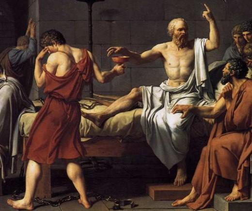 Ah! I drank it like Socrates!
