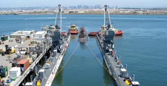 shipyard from U.S. Navy Region Southwest