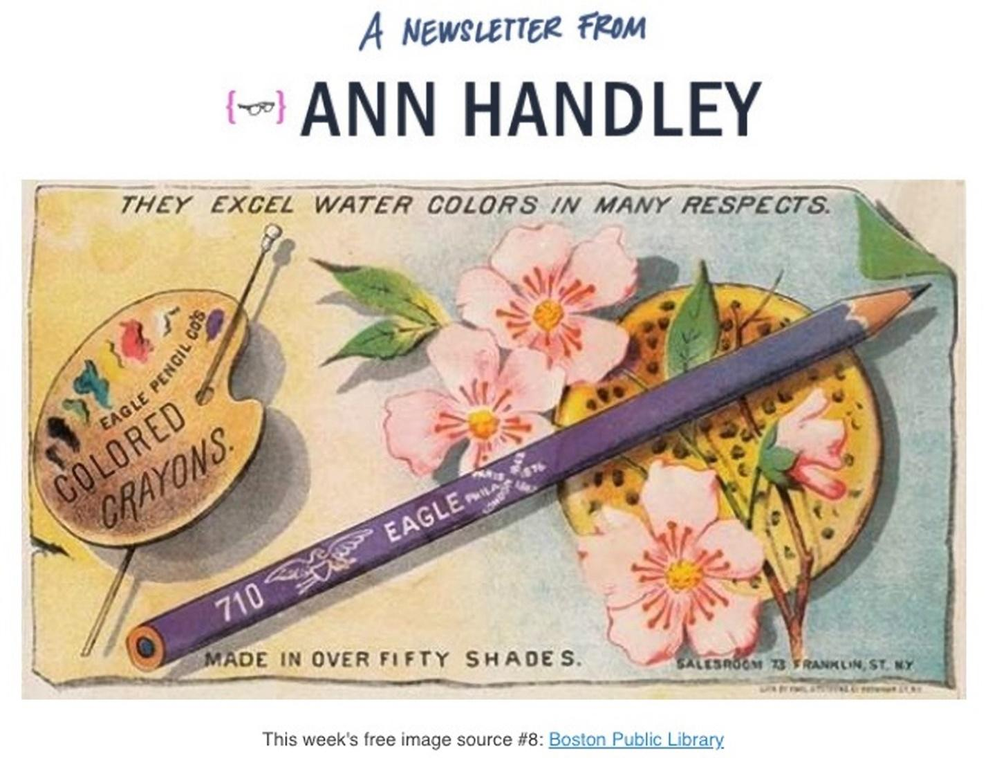 newsletter from Ann Handley