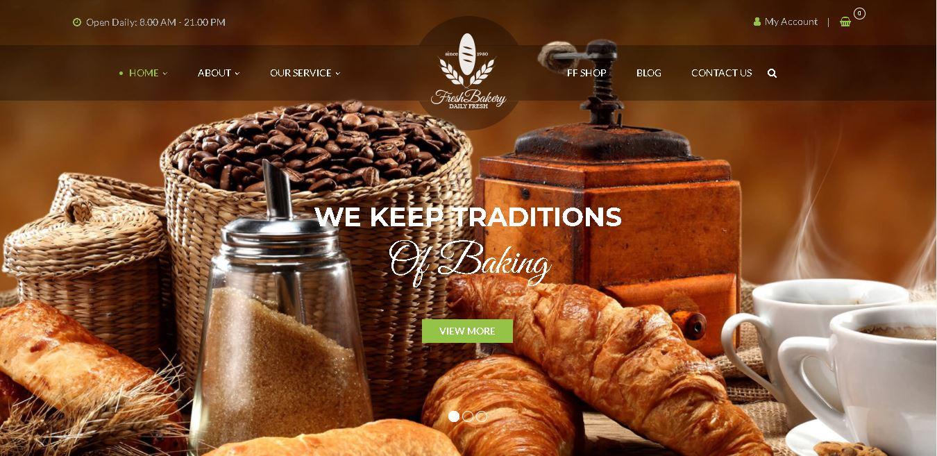 woocommerce bakery themes foodfarm