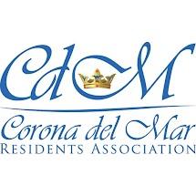 Corona del Mar Residents Assn PO Box 1500 Corona del Mar, CA  92625 www.cdmra.org  Facebook.com/CdMRA VM/Text 949.478.2454