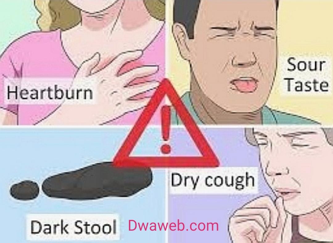الاختناق والكحة من أعراض الارتجاع