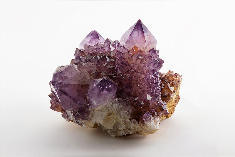 """Amethyst, Magaliesburg, South Africa"" by JJ Harrison / CC BY-SA 3.0"