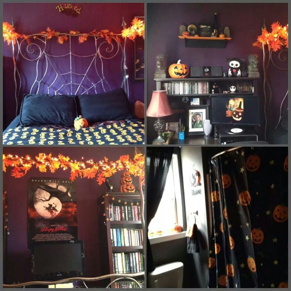 Image result for halloween room decor ideas