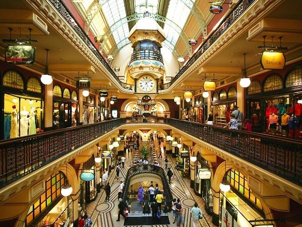mua sắm ở Úc là một trải nghiệm tuyệt vời mà bạn nhất định phải khám phá