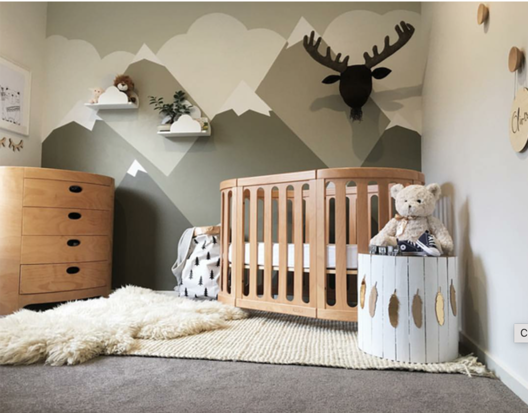 Oval Crib - Bambi Baby