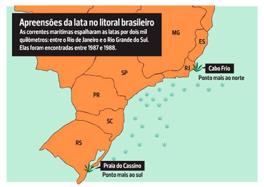 Verão da Lata, a origem: navio jogou toneladas de maconha no litoral brasileiro há 33 anos - 1
