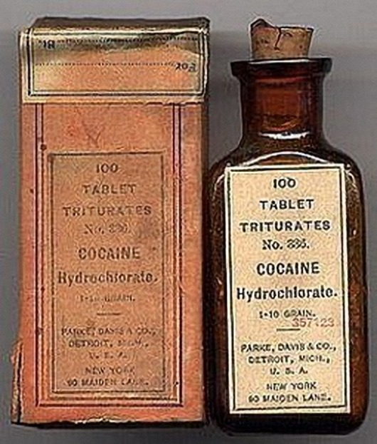 medicine drug history Cocaine