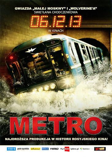 Przód ulotki filmu 'Metro'