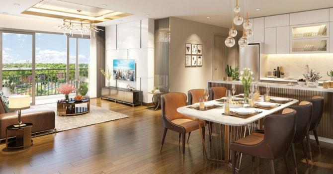 Thiết kế không gian mở cho căn hộ sang trọng và đẳng cấp