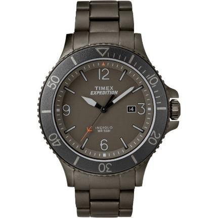 ซื้อ Timex TM-TW4B10800 นาฬิกาข้อมือผู้ชาย สายสแตนเลสส สีเทา ที่ เจดี  เซ็นทรัล   JD CENTRAL ส่งฟรี การันตีของแท้ JD.CO.TH