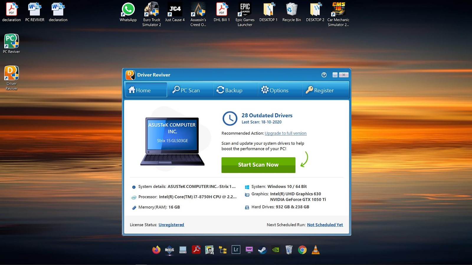 Software Driver Reviver