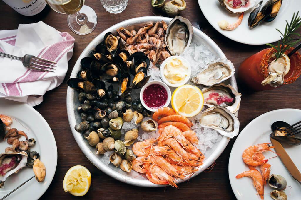 England Seafood Feast at Harvest Festival