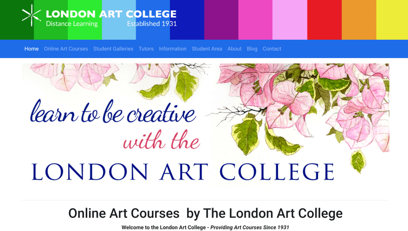 The London Art College offers 30 painting and drawing courses and three illustration courses.