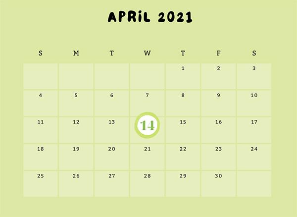 Tử vi ngày 14/04/2021