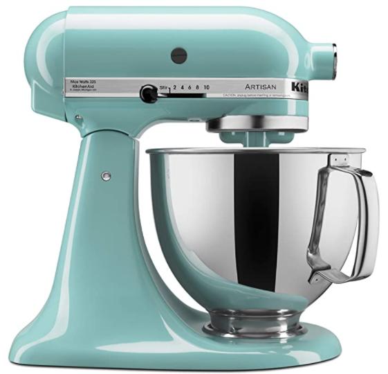 kitchen aid bright blue