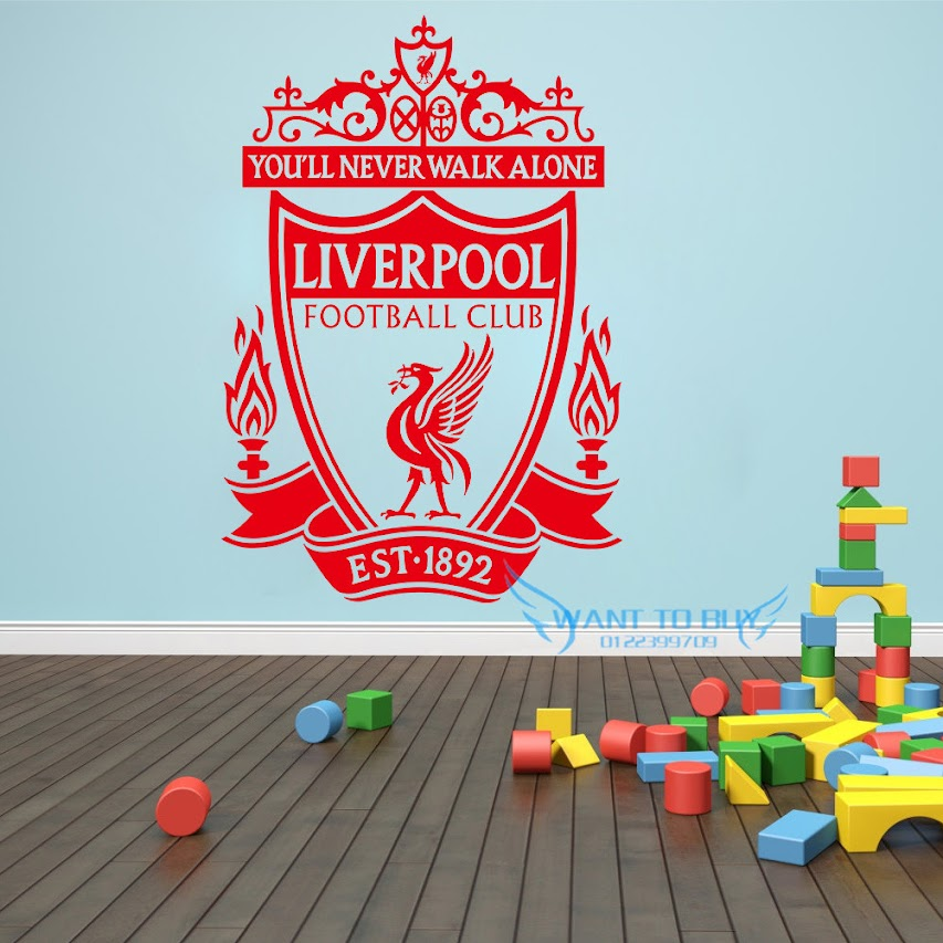 liverpool football club wall stickers and window stickers home deco 11street malaysia. Black Bedroom Furniture Sets. Home Design Ideas