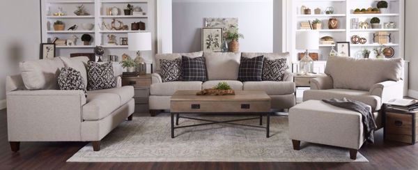 Picture of LINEN SOFA
