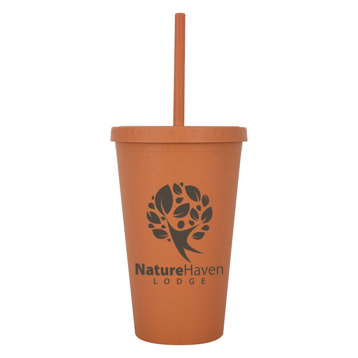 Wheat Straw Fiber Cup and Straw