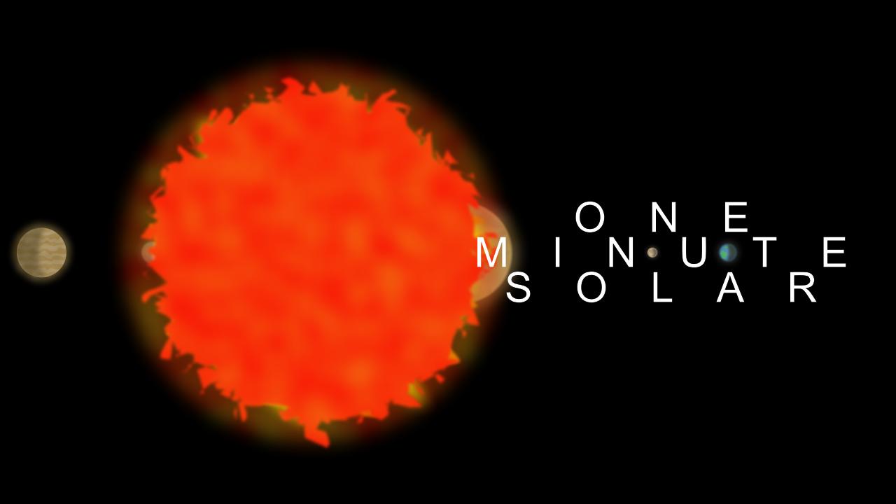 One Minute Solar логотип