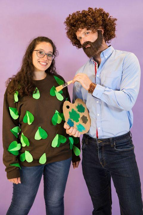 Homemade Halloween Costumes Bob Ross