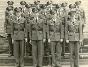 Sacramento High School R.O.T.C. Jim is in the 2nd row, 2nd from left.
